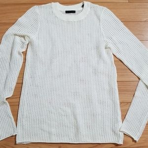 ATM  Perforated Long Sleeve Top!